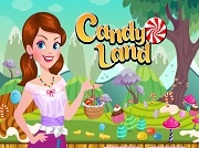 Играть  Candy Land Dress up