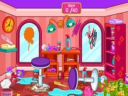 Играть Clean up hair salon