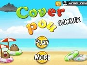 Игра Cover Pou Summer