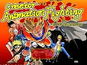 Creetor Animation Fighting: Luffy VS Naruto