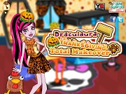 Игра Draculaura Thanksgiving Total Makeover