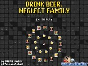 Игра Drink Beer, Neglect Family