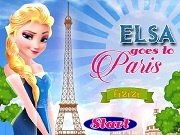 Игра Elsa goes to Paris