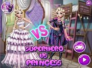 Игра Superhero VS Princess