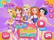 Пижамная вечеринка Эльзы