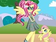 Игра Equestria girls Fluttershy