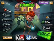 Игра Faster Than Zombies