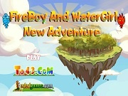 Игра FireBoy And WaterGirl New Adventure