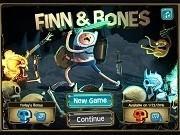 Игра Фин против скелетов (Finn and Bones)