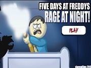 Five Days at Freddys: Rage at Night
