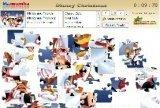 Игра Disney Christmas Puzzle 3 in 1