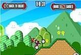 Игра Mario Motocross Mania