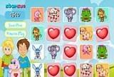 Игра Happy Hearts Memory