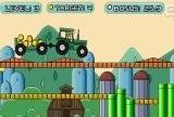 Игра Mario Tractor 2