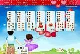 Игра Golf Solitaire First Love