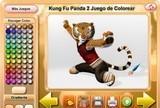 Kung Fu Panda 2 Juego de Colorear