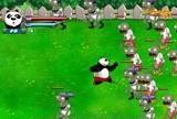 Игра Panda vs Zombies