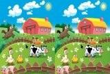 Игра Happy Farm - 10 Differences