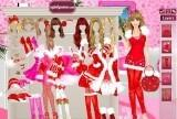 Игра Barbie Christmas Dress Up