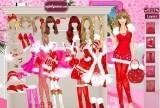 Barbie Christmas Dress Up