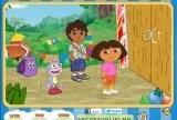 Dora the Explorer - Find the Alphabets