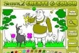 Shrek 2 - Create & Color