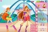 Winx Club Fashion - Bloom vs Flora
