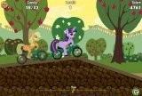 Игра Little Pony Bike Racing