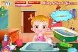 Игра Baby Hazel Skin Trouble