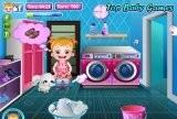 Игра Baby Hazel Laundry Time