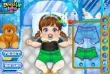 Играть Frozen Baby Care