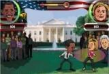 Obama vs Hillary - Street Fight