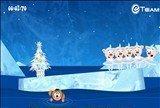 Новогоднее шоу «Поросята на льду»