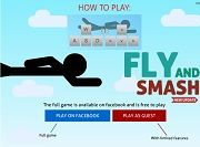 Игра Fly and Smash