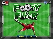 Играть Footy Flick
