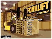 Игра Forklift Licence