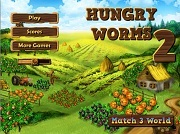 Играть Hungry Worms 2
