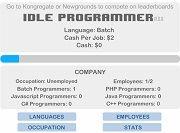 Игра Idle Programmer