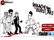 Игра Whack The Burglars