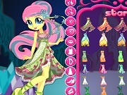 Игра Legend of Everfree Fluttershy dress up