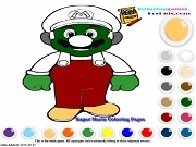 Игра Super Mario Coloring