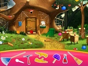 Играть Masha and the bear house decoration