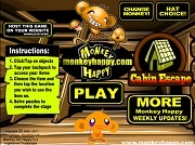 Играть Monkey GO Happy Cabin Escape
