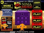 Monkey Go Happy Ninja Hunt