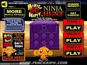 Игра Monkey Go Happy Ninja Hunt