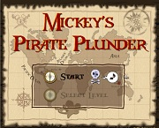 Играть Mickey's Pirate Plunder