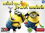 Играть Minions Jewel Match