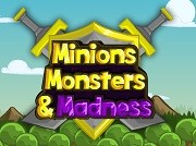 Играть Minions, Monsters, and Madness