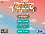Игра Monkey Defense