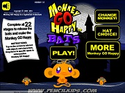 Играть Monkey GO Happy Bats